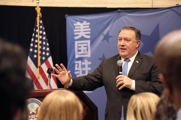 China tiene que pagar el costo por el coronavirus, según secretario de Estado Mike Pompeo