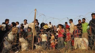 Las guerras de Estados Unidos inundan Europa de refugiados