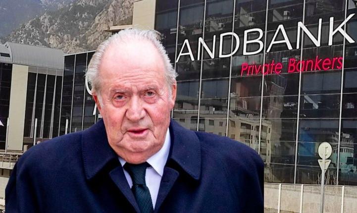 Juan Carlos de Borbón tenía una cuenta oculta en Andbank