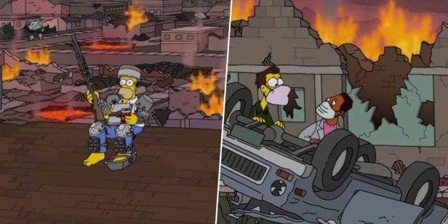 """Según Los Simpson, el """"fin de los tiempos"""" será en enero de 2021"""